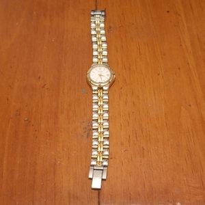 Pulsar gold and silver watch